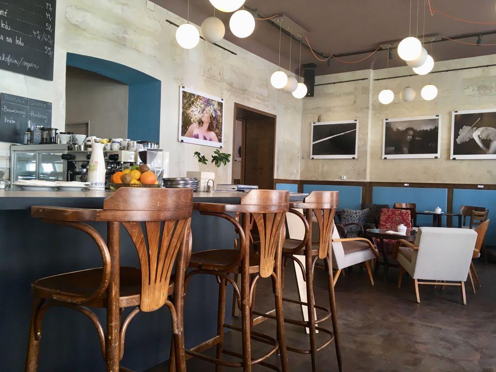 Interiér Café Regner